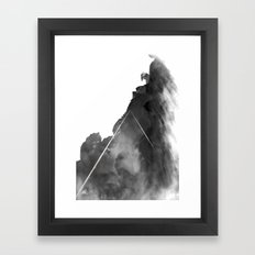 You're a mountain Framed Art Print