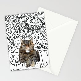 Cadoodle World Domination Stationery Cards