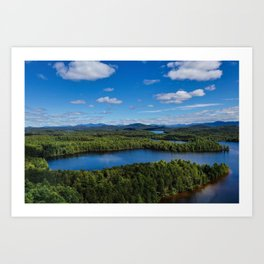 Fish Creek Pond Art Print