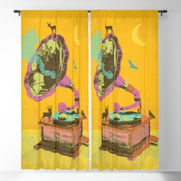 NATURE GRAMOPHONE Blackout Curtain