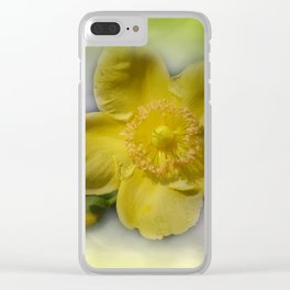 yellow summerfeeling Clear iPhone Case