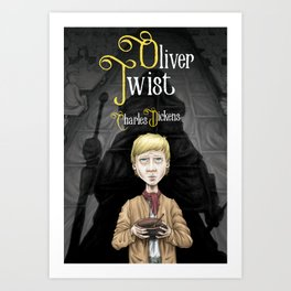 Charles Dickens' Oliver Twist Art Print
