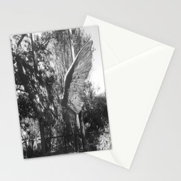 """The """"Wings of the City"""" sculpture exhibit by Mexican Artist Jorge Marín 5 Stationery Cards"""