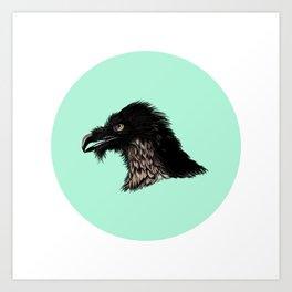 The Vulture. Art Print