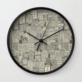windows umber Wall Clock