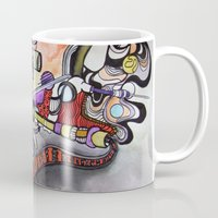 technology Mugs featuring Technology System1 by infloence