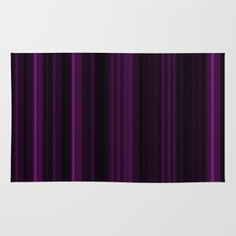 Purple Vertical Stripes Rug