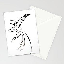 Sufi Meditation Whirling Dervish Stationery Cards