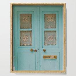 Mint Door Serving Tray