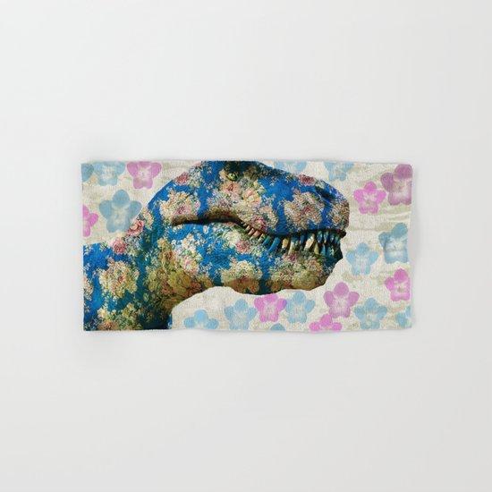 Dinosaur Hand & Bath Towel