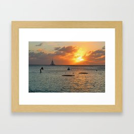 Sultry with a Twist Framed Art Print