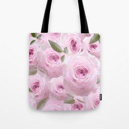 Pink Roses - Romantic mood - #Society6 #buyart #pivivikstrm Tote Bag
