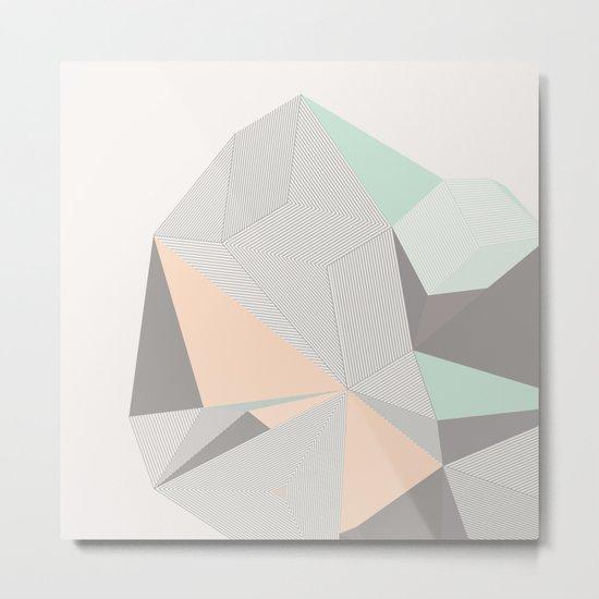 Origami II Metal Print