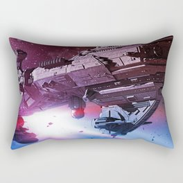 Better World Spaceship Rectangular Pillow