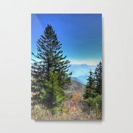 Blue Ridge Mountains North Carolina Metal Print