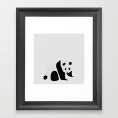 pa-pa-pan-daa Framed Art Print