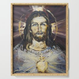Ecstasy X. The Transfiguration Serving Tray