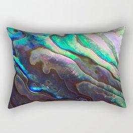 Pearlescent Abalone Shell Rectangular Pillow