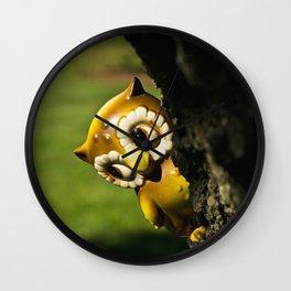Harvey the Owl II Wall Clock