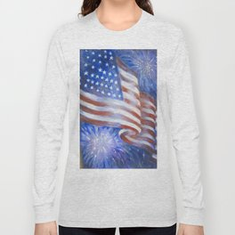 I Pledge Allegiance to the Flag Long Sleeve T-shirt