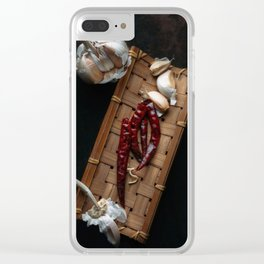 Spices Clear iPhone Case