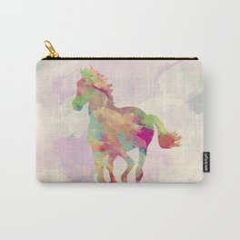 Abstract horse Carry-All Pouch