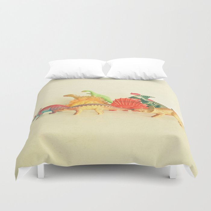 Walking With Dinosaurs Duvet Cover