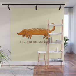 This is not a baguette Wall Mural