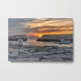 Sunset at Lanes cove 5-5-18 Metal Print