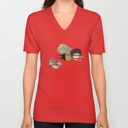 Someone to be super with Unisex V-Neck