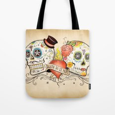 Death Do Us Part Tote Bag