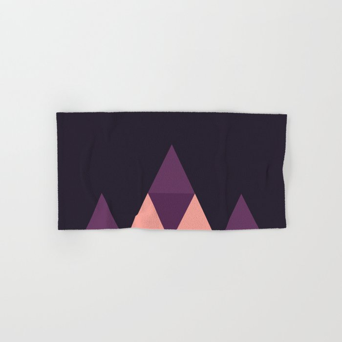Geometric Pyramid Hand & Bath Towel