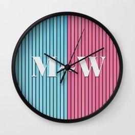 Man and Woman Creative Artwork Wall Clock