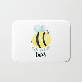 Cute As Can Bee! Bath Mat