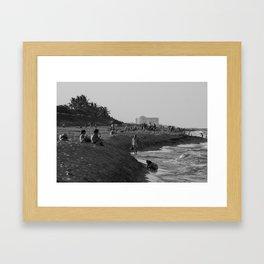 Juno Beach Framed Art Print