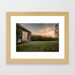 Pennsylvania Barn Framed Art Print