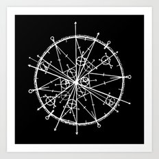 Tribute to Pi Art Print
