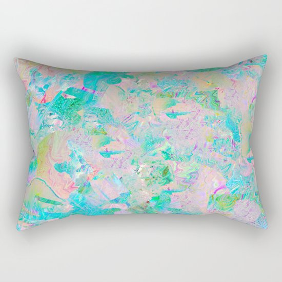 Candied Marble Rectangular Pillow