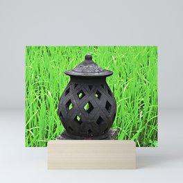 Candle Lantern Mini Art Print