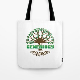 Eat Sleep Genealogy Repeat Bloodline Parentage Lineage Origin Family Tree Gift Tote Bag