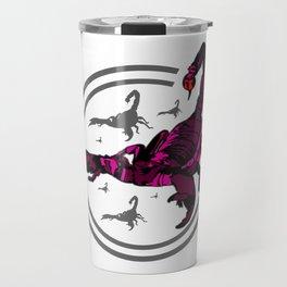PINK Scorpion Travel Mug