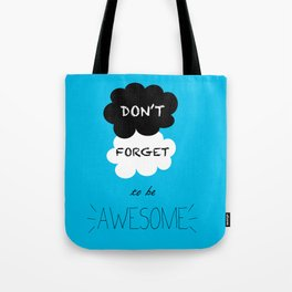 DFTBA TFIOS Nerdfighter Vlogbrothers Don't Forget to be Awesome, The Fault in Our Stars, John Green Tote Bag