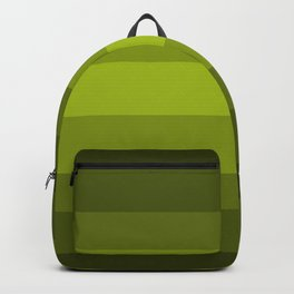 Dark Green Pear - Color Therapy Backpack