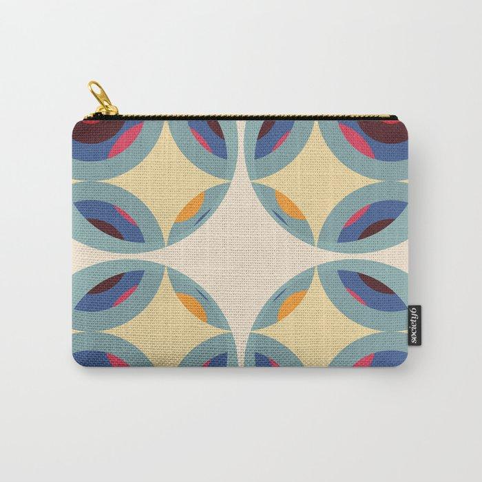 Retro Color Design Carry-All Pouch
