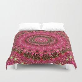 Pink Flower in Greece 2 Duvet Cover