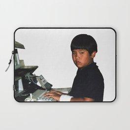 Hardcore coder with wrist band Laptop Sleeve