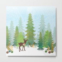 Tundra Metal Print