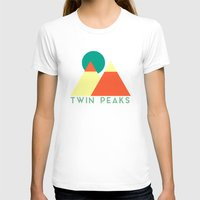 twin peaks T-shirts featuring Twin Peaks by Victor Velocity
