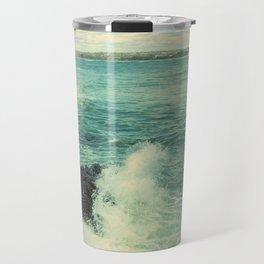Rhode Island Crashing Wave Travel Mug