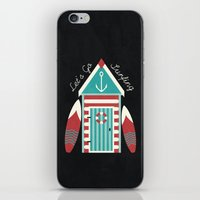 Let's Go Surfing. iPhone & iPod Skin